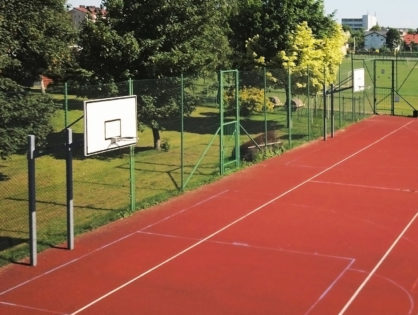 Fence supply and install for basketball courts Brisbane